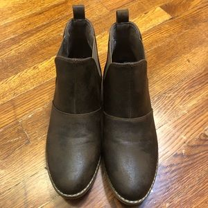 ROCKET DOG Brown Ankle Boots Sz. 9